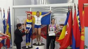 Sanda Iorga, pe locul 1 la Balcaniadă.