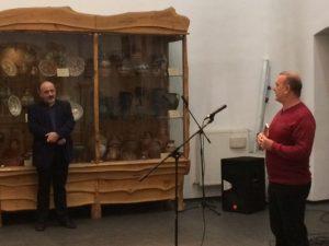 Autorul cărții și directorul Muzeului Etnografic al Transilaniei, un parteneriat de succes, alături de Vechiul Cluj